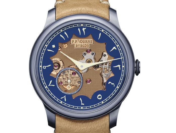F.P. Journe : un Chronomètre Bleu Byblos vendu 149.000 dollars