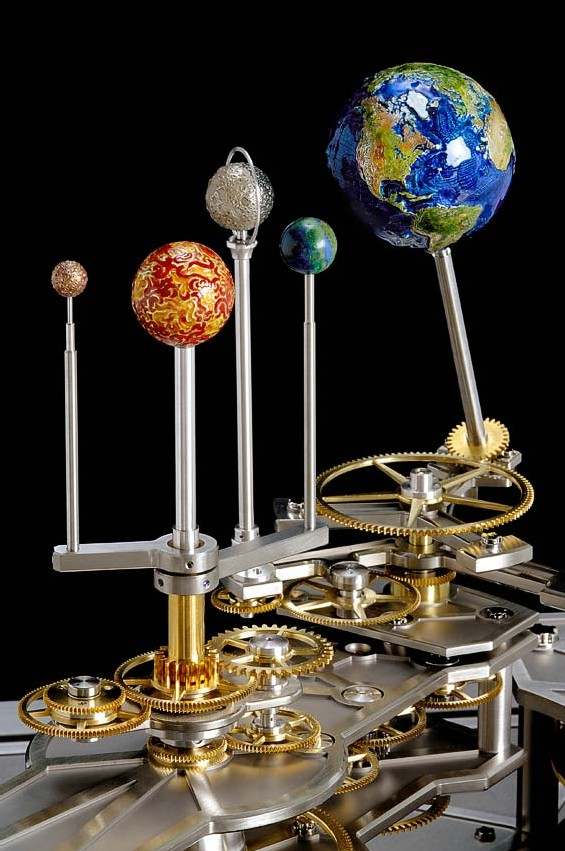 Planétaire-tellurium Richard Mille