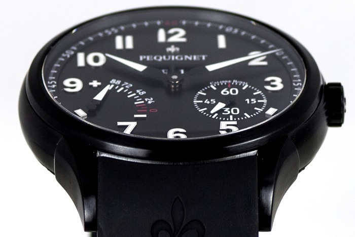 Pequignet Manufacture All Black : une version plus contemporaine, par Jacques Ecrément
