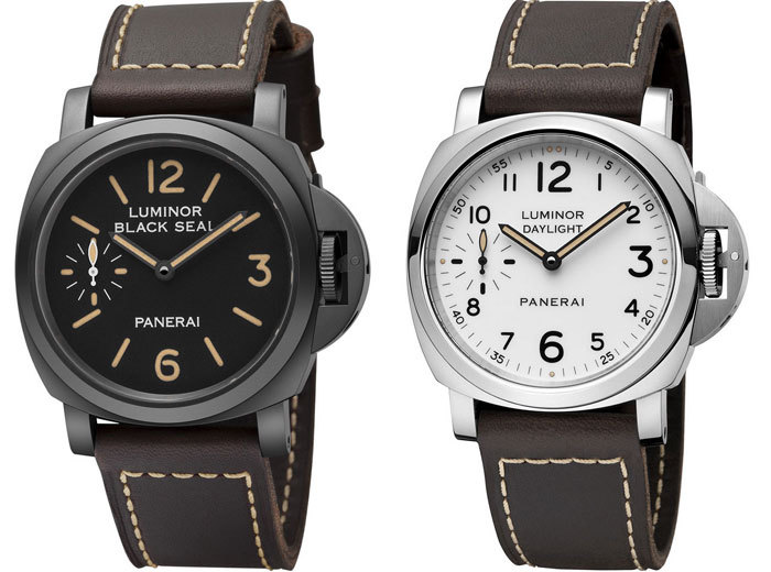 Panerai : un coffret de deux montres Editions Speciales Luminor Black Seal et Luminor Daylight
