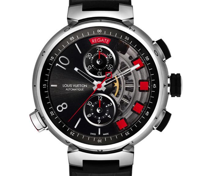 Louis Vuitton Tambour Spin Time Regatta Titane