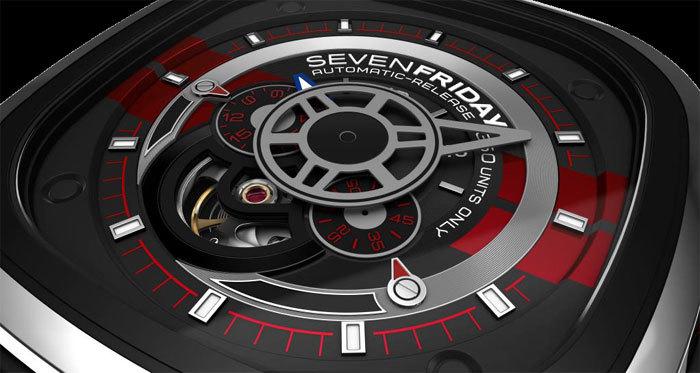 """SevenFriday : édition limitée P3/BB dite la """"Big Block"""""""