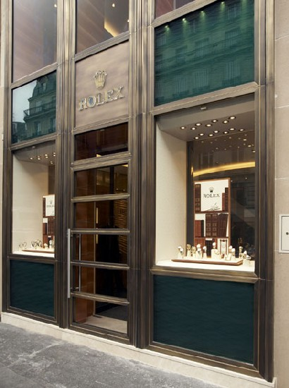 Boutique Rolex à Paris