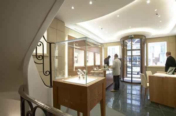 Boutique Rolex à Paris