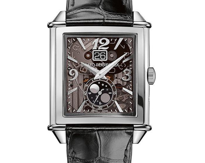 db0274ad42ae6 Girard-Perregaux Vintage 1945 Grande Date et Phases de lune : la montre qui montre  tout