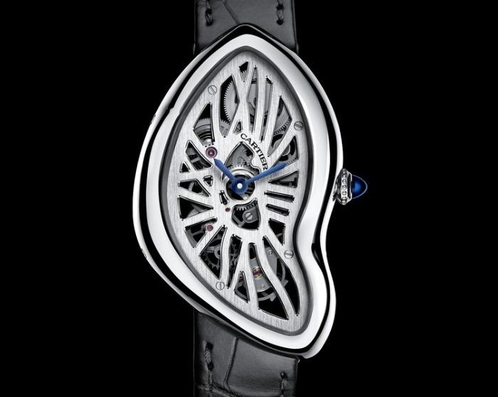 Cartier Crash squelette : le Swinging London au poignet