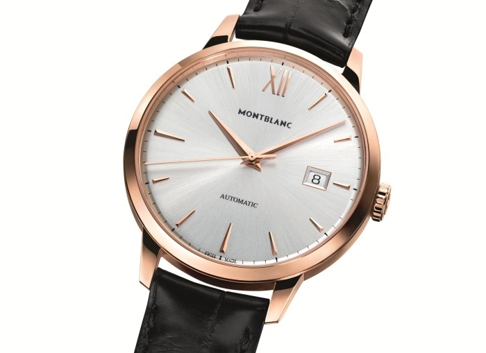 Montblanc Meisterstück Heritage Date Automatic en or rouge