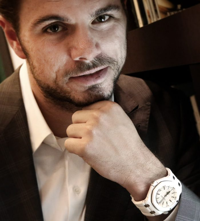 Audemars Piguet : Stan Wawrinka, nouvel ami de la marque