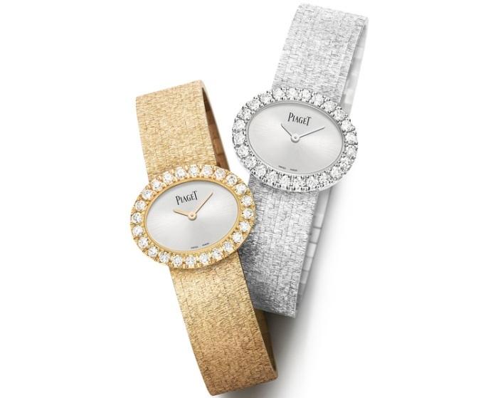 Piaget : montres ovales en or