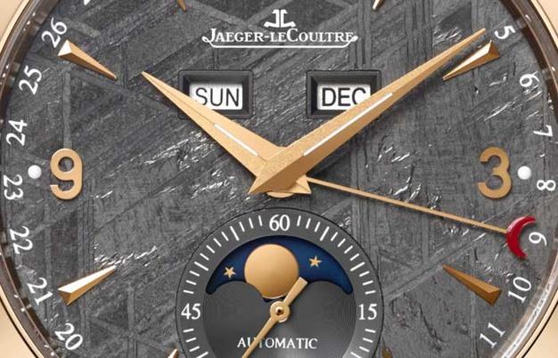 Jaeger-LeCoultre Master Calendar : cadran météorite