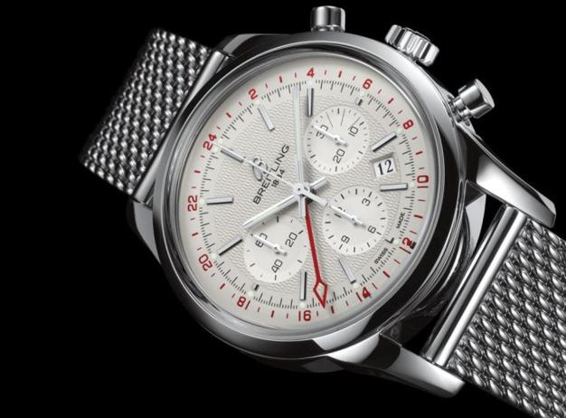 """Breitling et les montres """"voyageuses"""""""