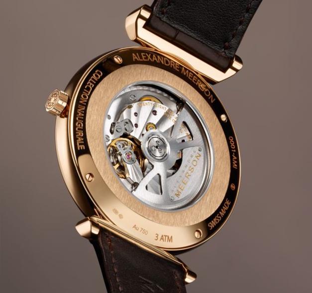 Alexandre Meerson : une nouvelle marque horlogère au Bon Marché