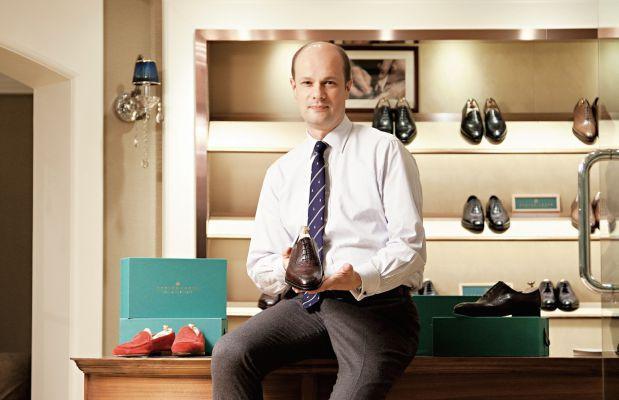 Xavier Candat, cofondateur d'Upper Shoes