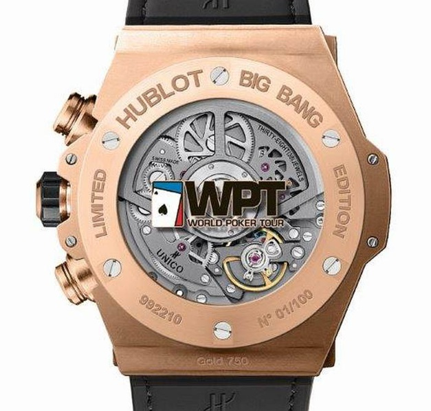 Hublot : coup de poker avec le World Poker Tour
