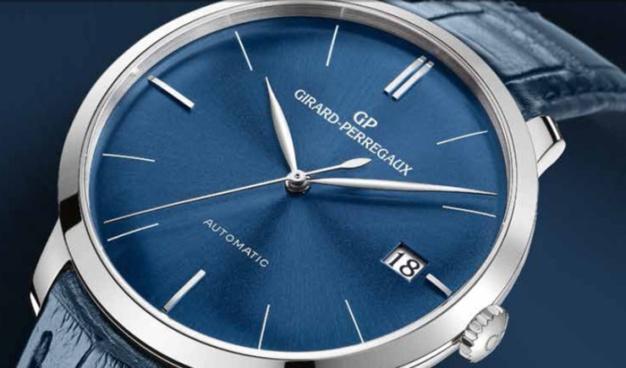 L'heure bleue Girard-Perregaux 1966 : toute la beauté du blues