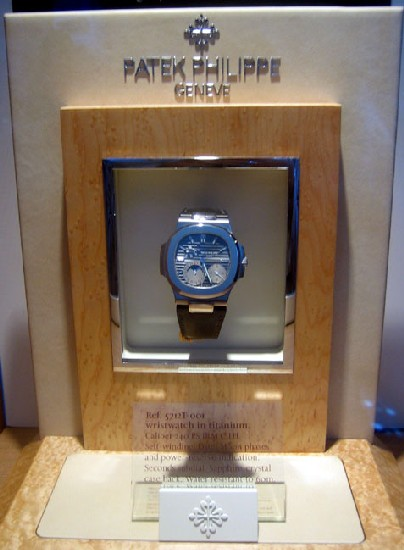 Patek Philippe Nautilus 5712T Titanium, la star d'Only Watch 2007