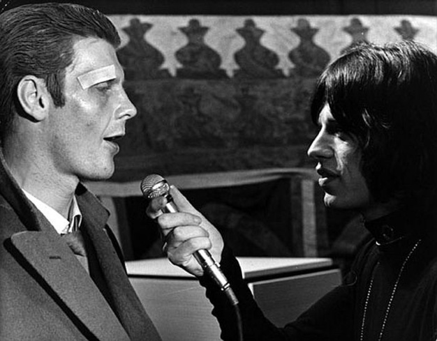 Performance, James Fox et Mick Jagger, DR