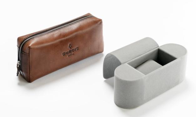 DuBois et fils : un sac en cuir en guise de boite de montres