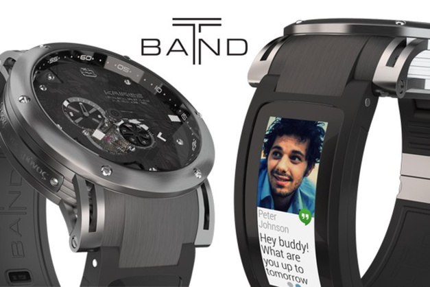 Kairos T-band : un e-strap pour votre montre mécanique