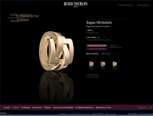 Site Internet Boucheron