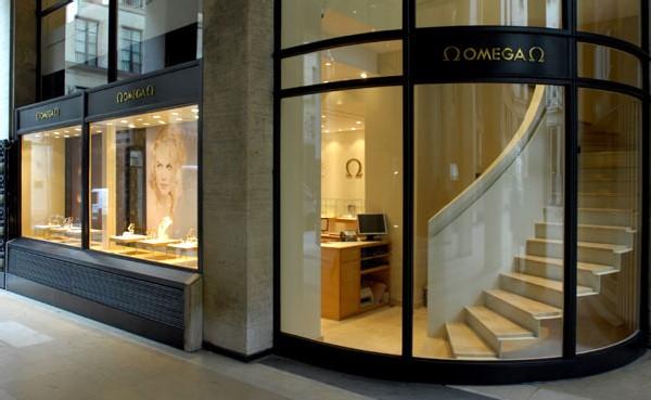Boutique Omega à Paris