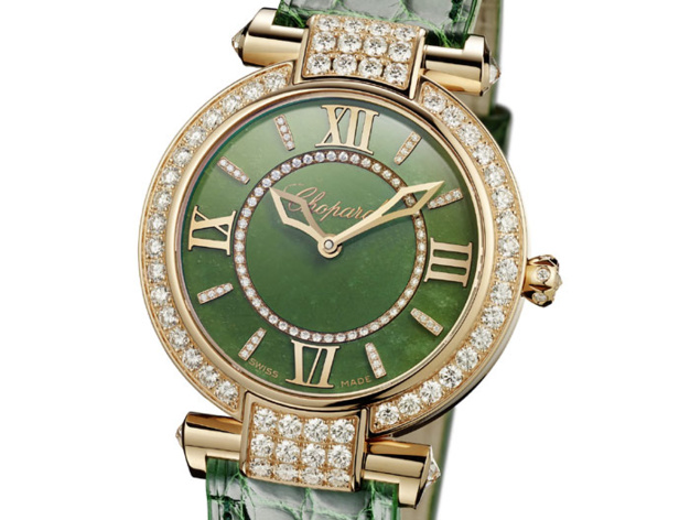 Chopard Imperial 36mm jade : pour le Nouvel An chinois 2015