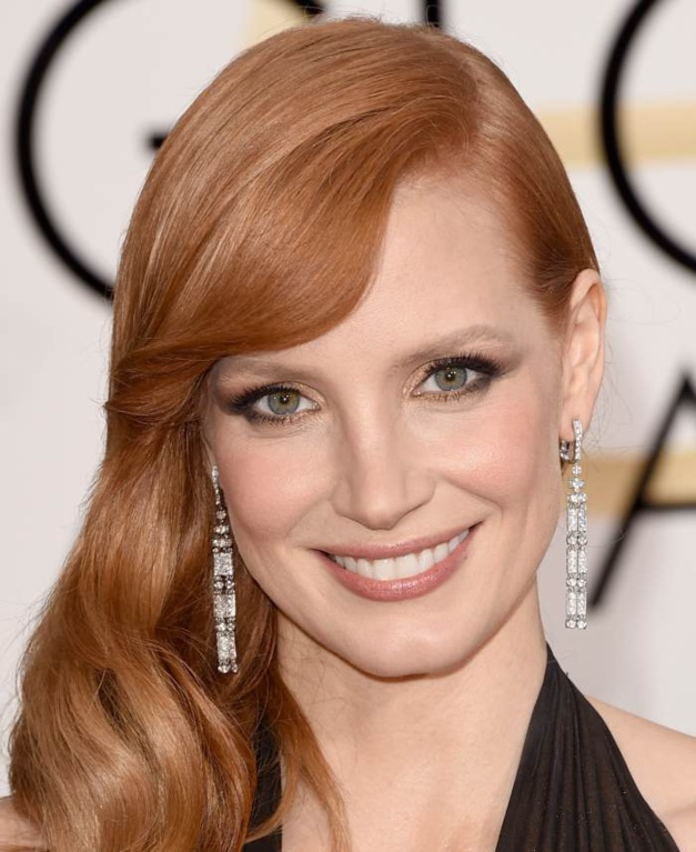 jessica chastain nouvelle g rie piaget. Black Bedroom Furniture Sets. Home Design Ideas