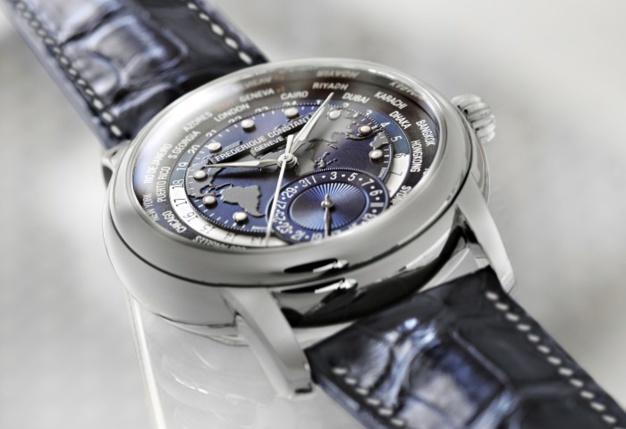 Frédérique Constant Classics Manufacture Worldtimer Navy Blue