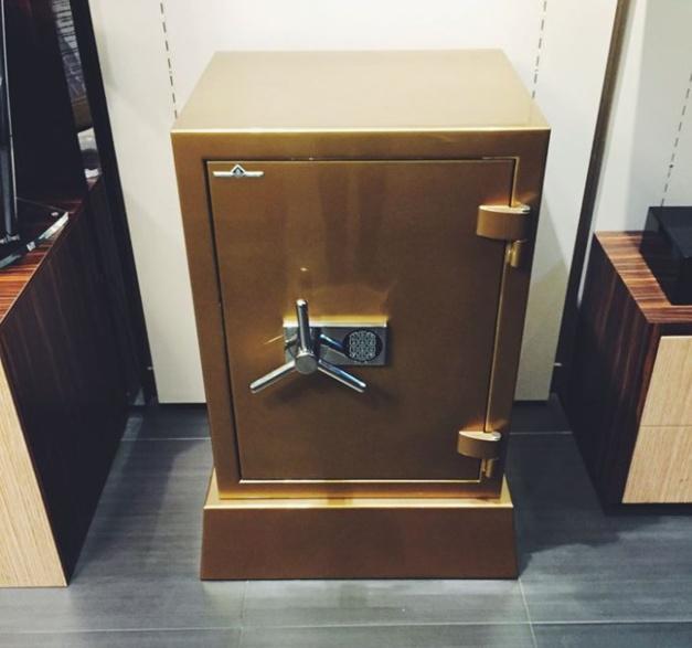Hartmann : le coffre-fort de Goldfinger disponible chez MisterChrono