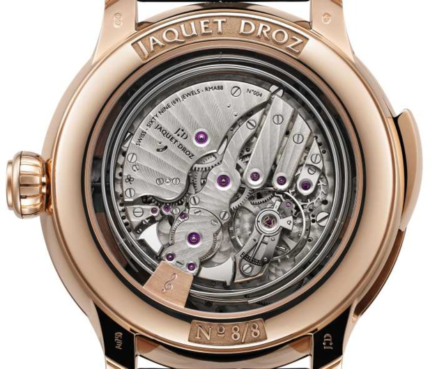 Jaquet Droz The Bird Repeater Geneva : hommage à la ville la plus horlogère du monde