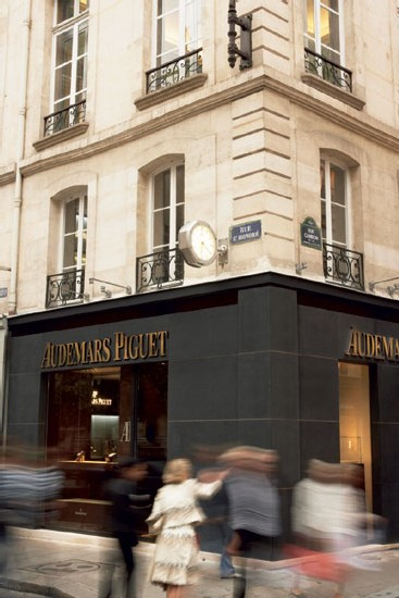 Boutique Audemars Piguet à Paris