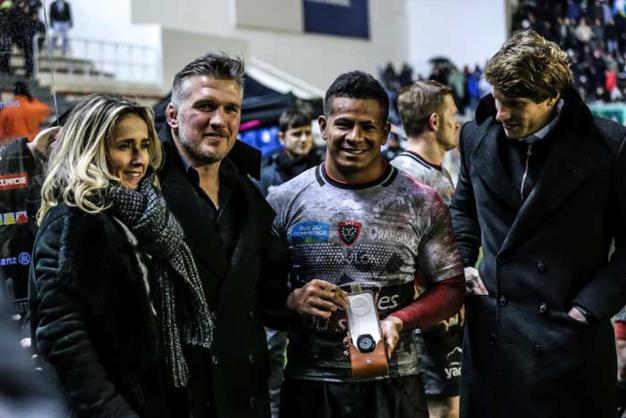Jeanrichard : partenaire des Rugby Masters 2015