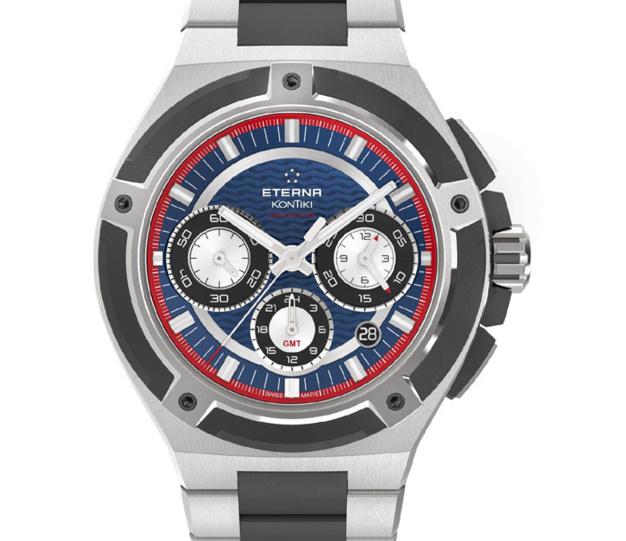 Eterna Royal KonTiki Chronographe GMT