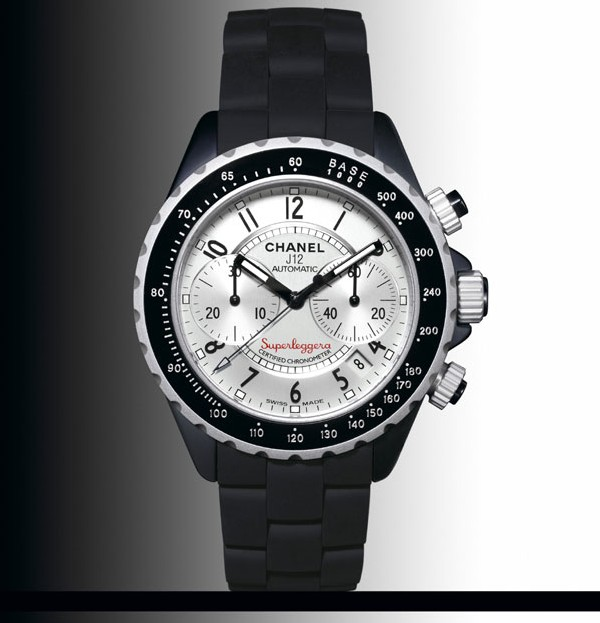 Chanel Chrono J12 Superleggera en céramique noire