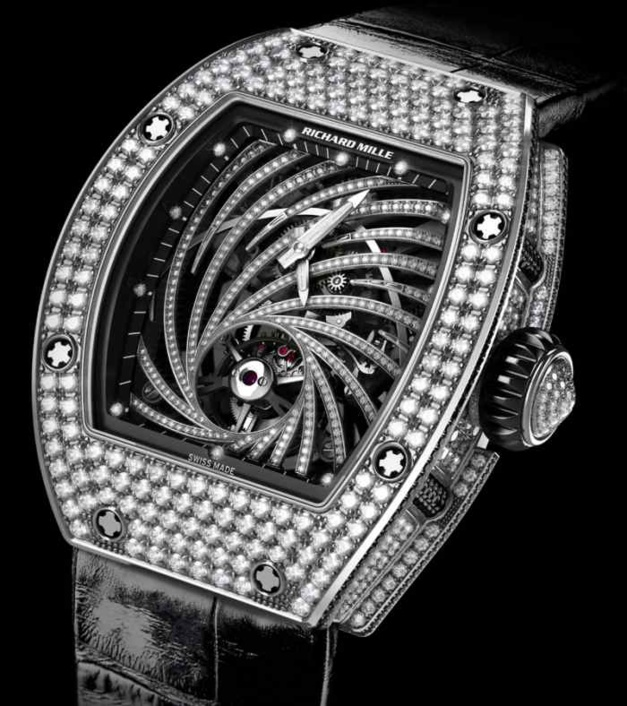 ​Richard Mille Tourbillon RM 51-02 Diamant Twister