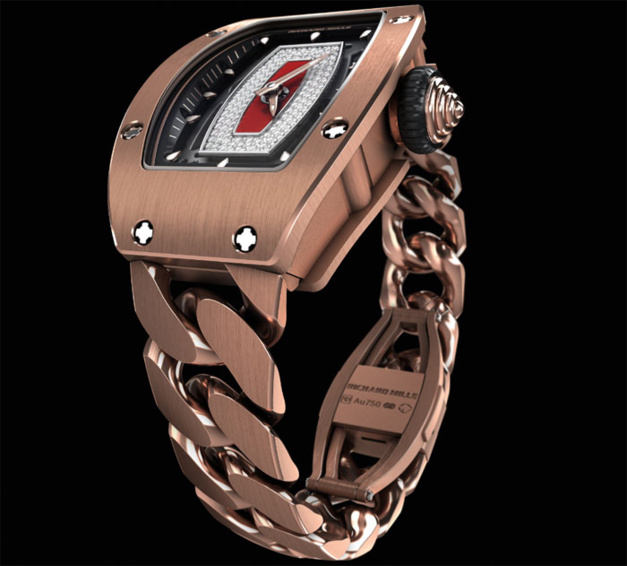 Richard Mille : un nouveau bracelet gourmette pour ses montres femmes