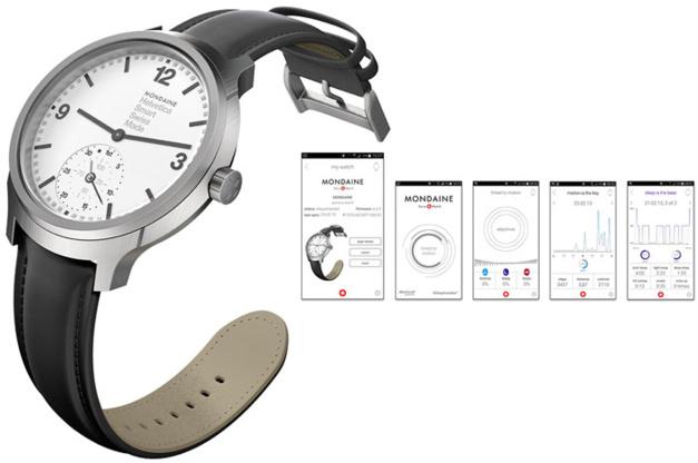 Mondaine Helvetica No 1 Horological Smartwatch : les smartwatches débarquent !