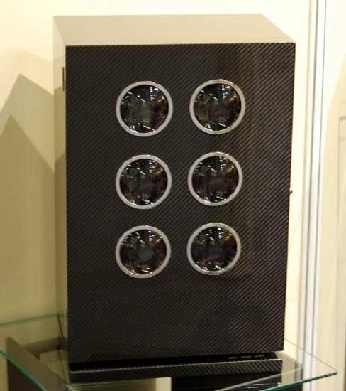 Elie Bleu : collection « Avant-Garde » de cabinets rotatifs pour montres