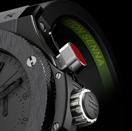 Hublot sort une Big Bang All Black rattrapante pour l'Institut Ayrton Senna