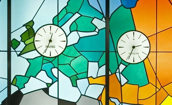 Horloge Vacheron Constantin à l'Opéra Bastille à Paris