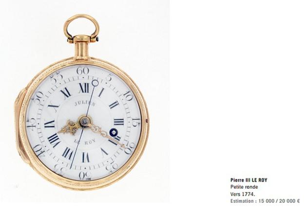 Vente aux enchères : dispersion de la collection horlogère de Jean-Claude Sabrier