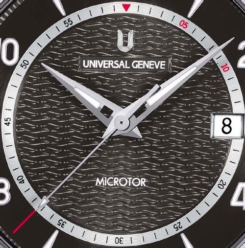 Microtor Ug 101 : Universal Genève confirme son renouveau