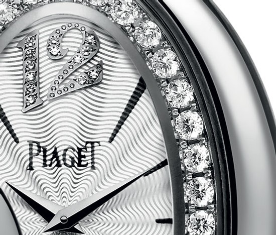 So Magic de Piaget or gris et diamants