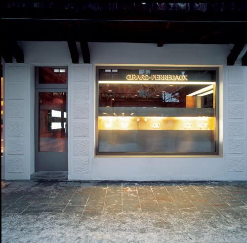 Boutique Girard-Perregaux à Gstaad en Suisse