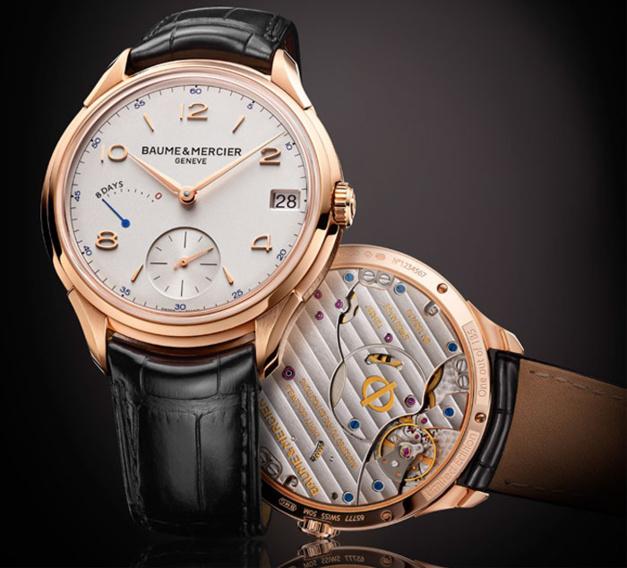 Baume et Mercier Clifton 8 jours de Réserve de marche : 185 ans d'expertise horlogère