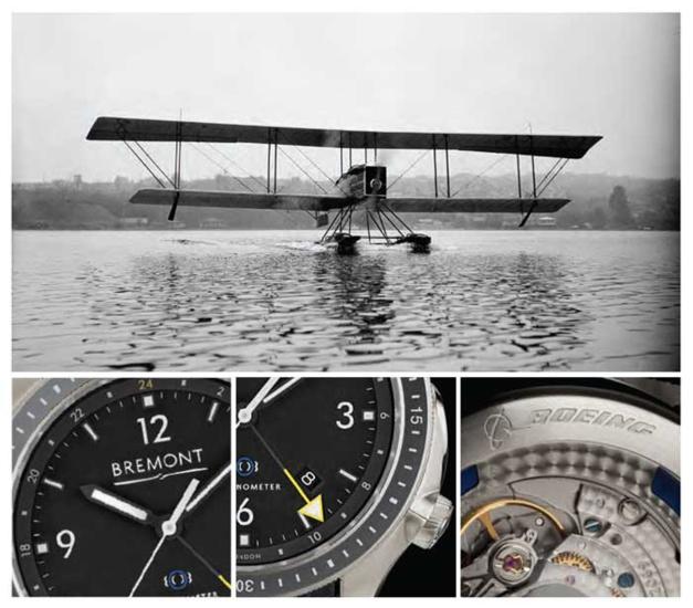Bremont Boeing : du titane aéronautique au service du GMT