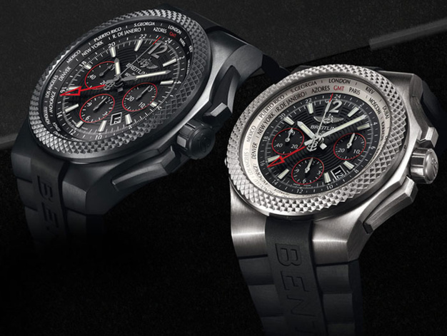 Breitling for Bentley GMT Light Body B04 : deux nouvelles versions en titane