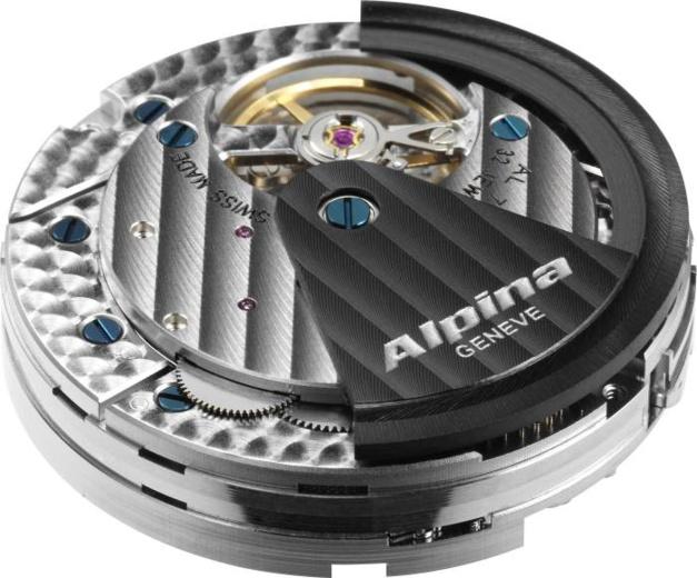 "Alpiner 4 Chronographe Manufacture Flyback : un premier calibre ""manuf"" pour Alpina"