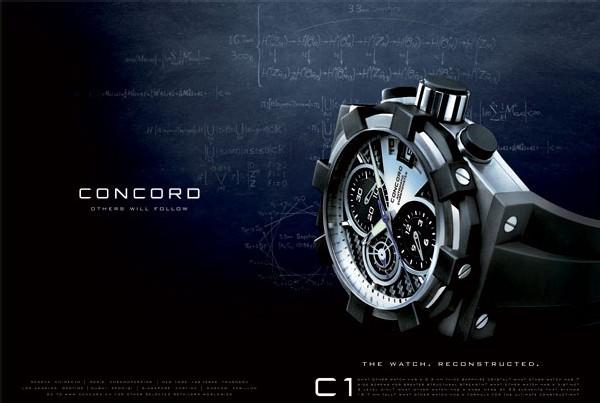 The Watch Reconstructed : Concord affirme sa nouvelle identité horlogère par le biais de cette nouvelle campagne de publicité