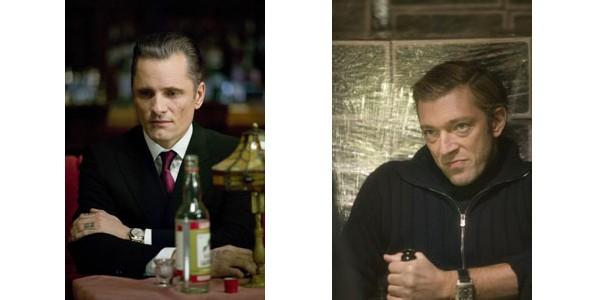 Viggo Mortensen et Vincent Cassel dans Les Promesses de l'Ombre